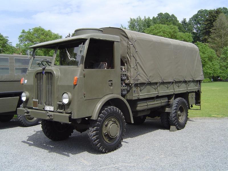 SAURER 4CM Lastw gl 5t 4x4, Jahrgang 1952